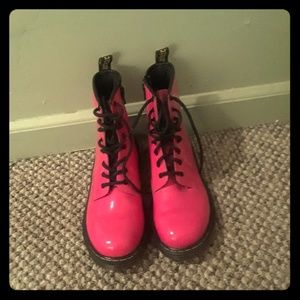 Pink Dr. Martens Boots size 5